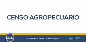CENSO AGROPECUARIO.